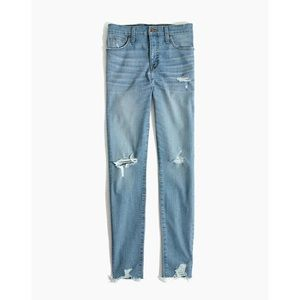 """Madewell 9"""" High-Rise Skinny Jeans in Ontario Wash"""